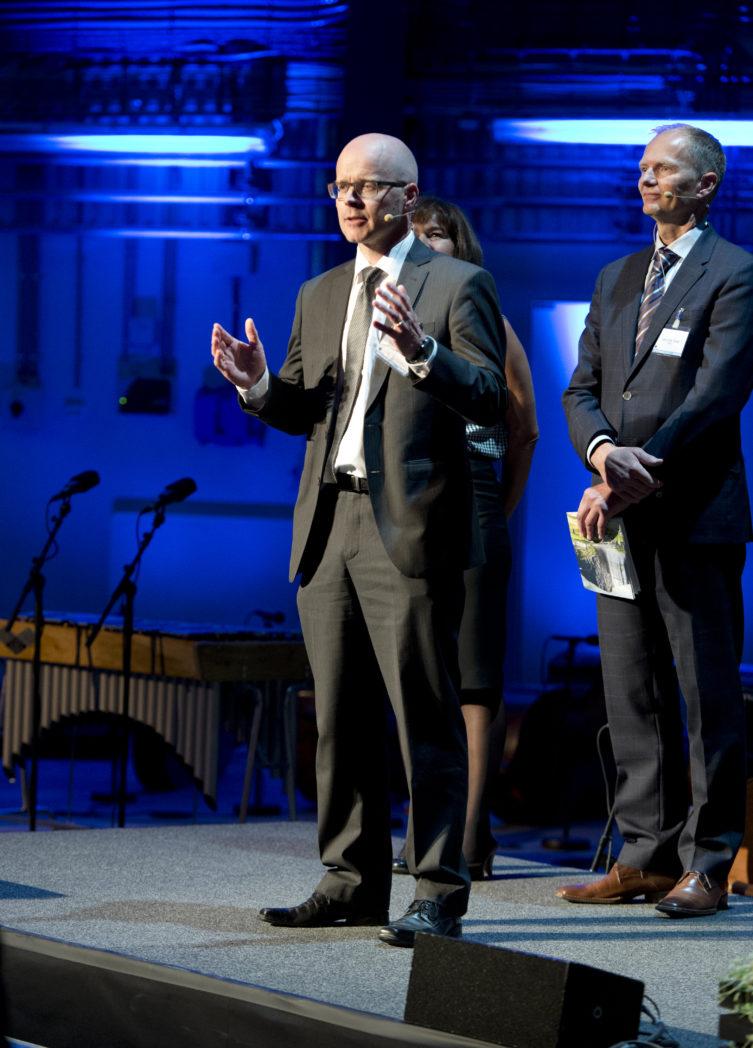 Forskninssjef Dag Eirik Nordgård forteller om SINTEF Energy Lab.