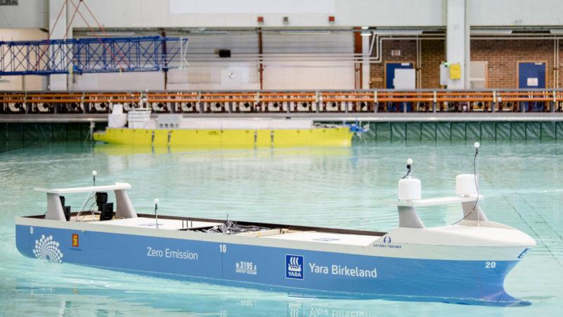 autonome skip testes i havlaboratoriet