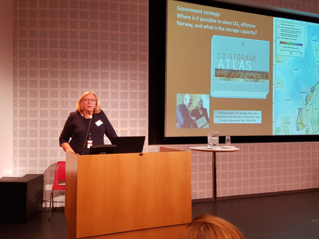"""""""The standards are in place, so what are we waiting for?"""", says Eva Halland (NPD). Photo: Svend T. Munkejord."""