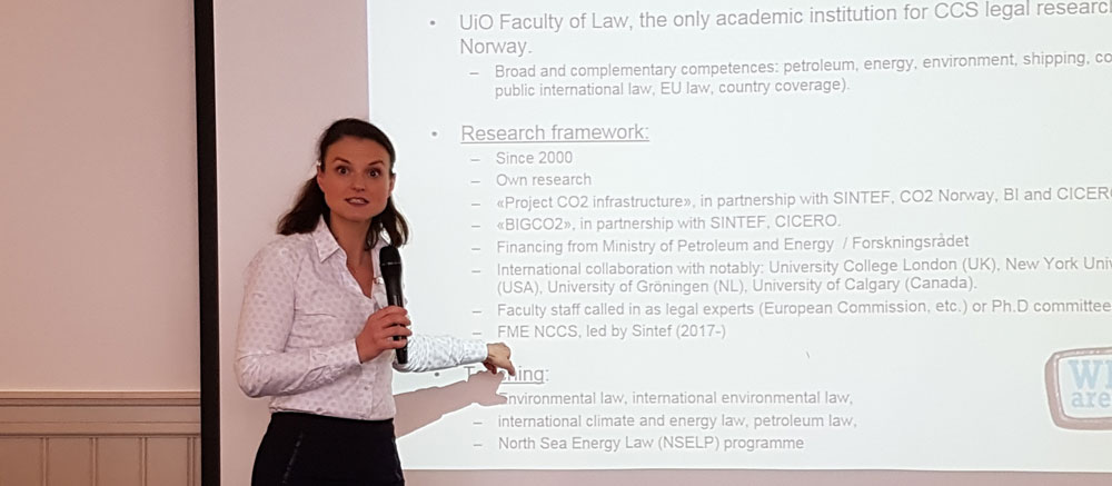 Associate Professor Catherine Banet of the University of Oslo is scheduled to lead the work package on business-case development.