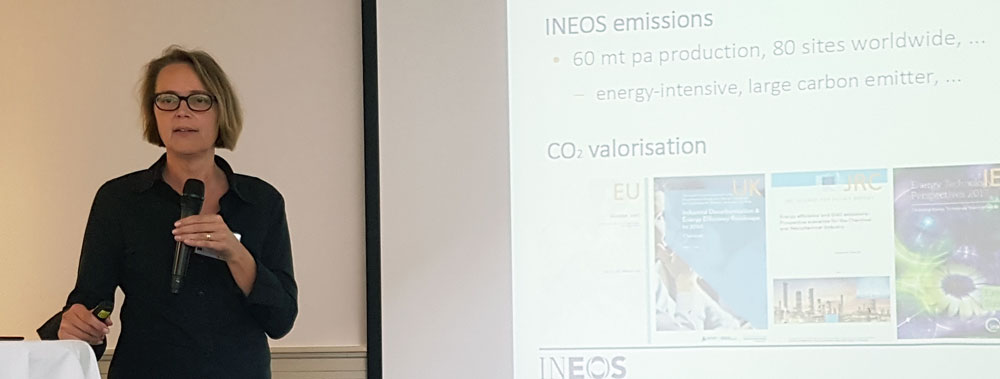 Dr Greet Van Eetvelde represents the petrochemical company INEOS in the consortium.