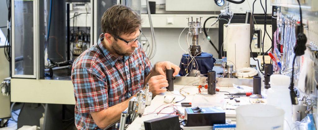 Testing i laboratoriet