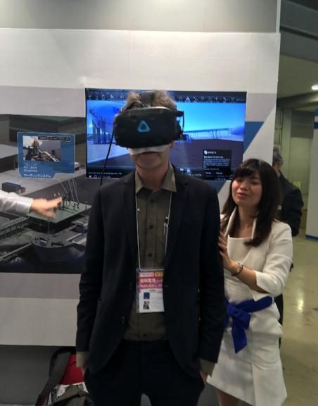 VR-inspeksjon av mottaksterminal for flytende hydrogen
