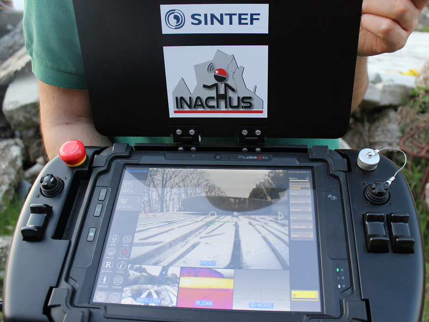 INACHUS Rugged TAUROB Tablet PC