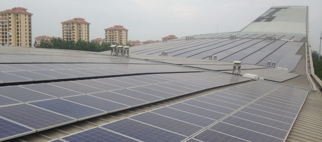 Urban, Rooftop PV, China