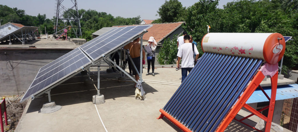 Rural, Rooftop PV, China