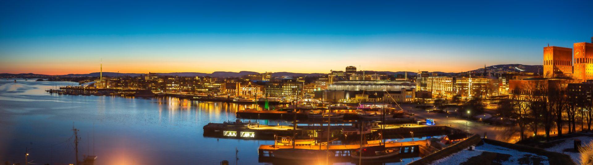 Photo of Oslo harbour