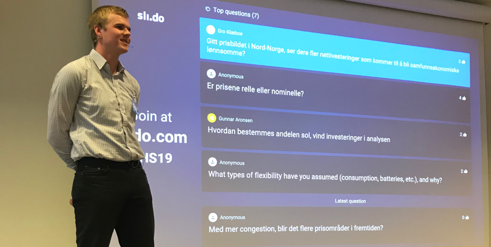 Analytiker i Statnett, Vegard Holmefjord