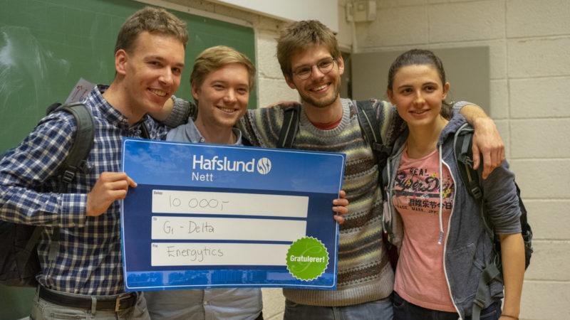 vinnere, førstepremie, hackathon