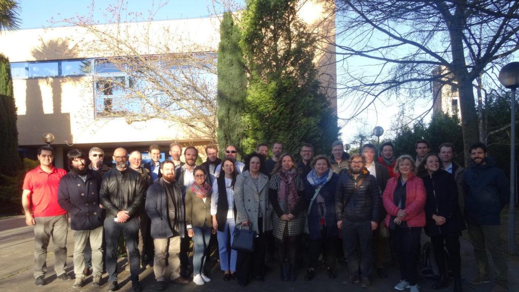 Deltakere i Bilbao Annex 75