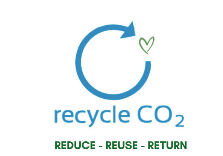 Recycle CO2, Return CO2, CCS