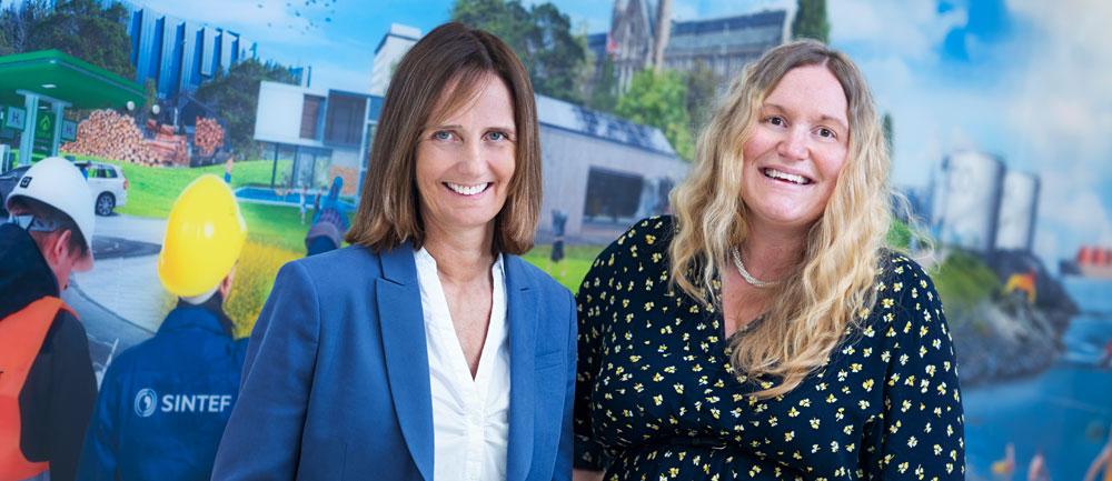 Centre Manager Marit Mazzetti and Centre Director Malin Torsæter