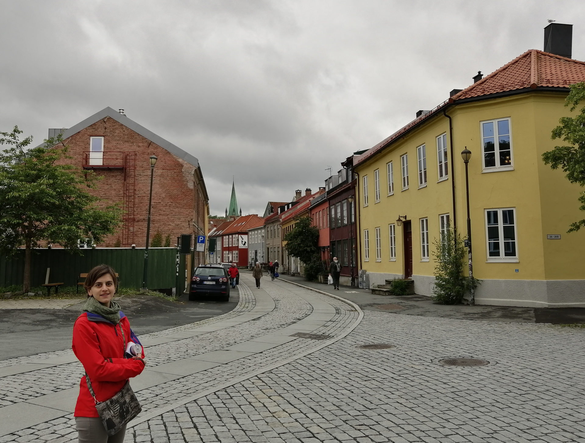 Barbara Re, while enjoying some free time in Trondheim.
