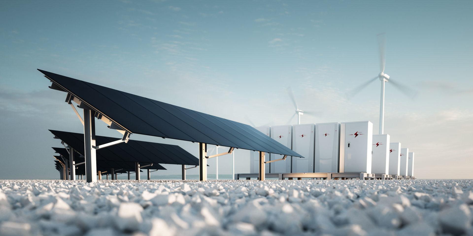 sol- og vindenergien