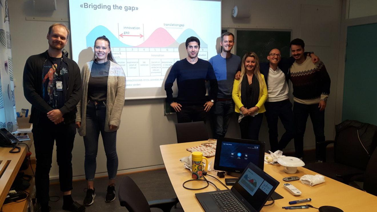 Innovation on the agenda for CINELDI PhDs