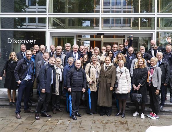 HorisontEuropa SINTEF og NTNUs delegasjon i Brussel under strategikonferansen 8. og 9. oktober 2019.