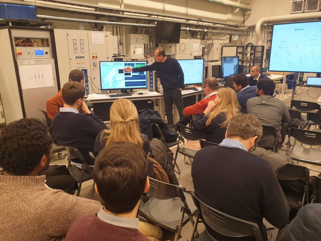 Eksperter fra Europas fremste smartgrid laboratorier møttes i Trondheim