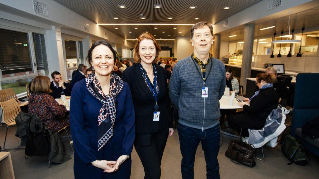 Benedicte Økland, Siri Hunnes Blakstad, Morten Hatling