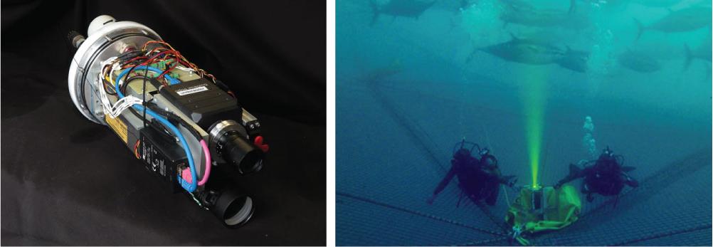 UTOFIA UTOFIA prototype. and UTOFIA camera operated in subsea environment.