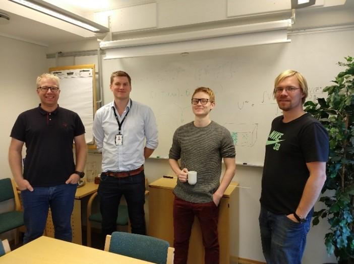 Team of NTNU and SINTEF researchers in Trondheim, Norway