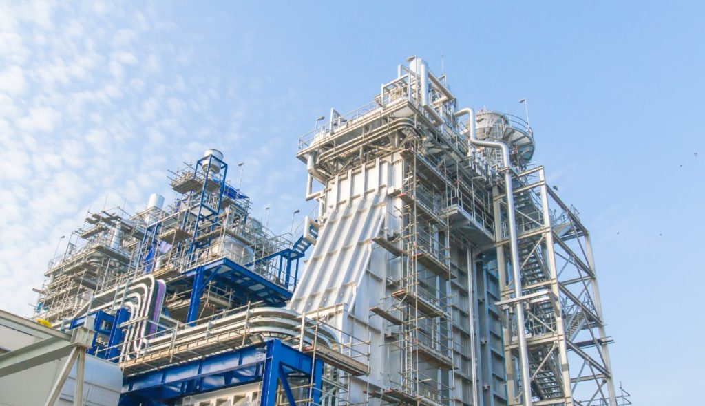 Heat recovery steam generators at power plant