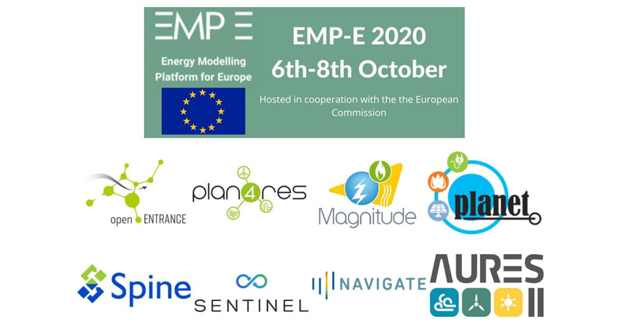 Åtte energimodelleringsprosjekt og EU kommisjonen samarbeidet om konferansen EMP-E 2020.