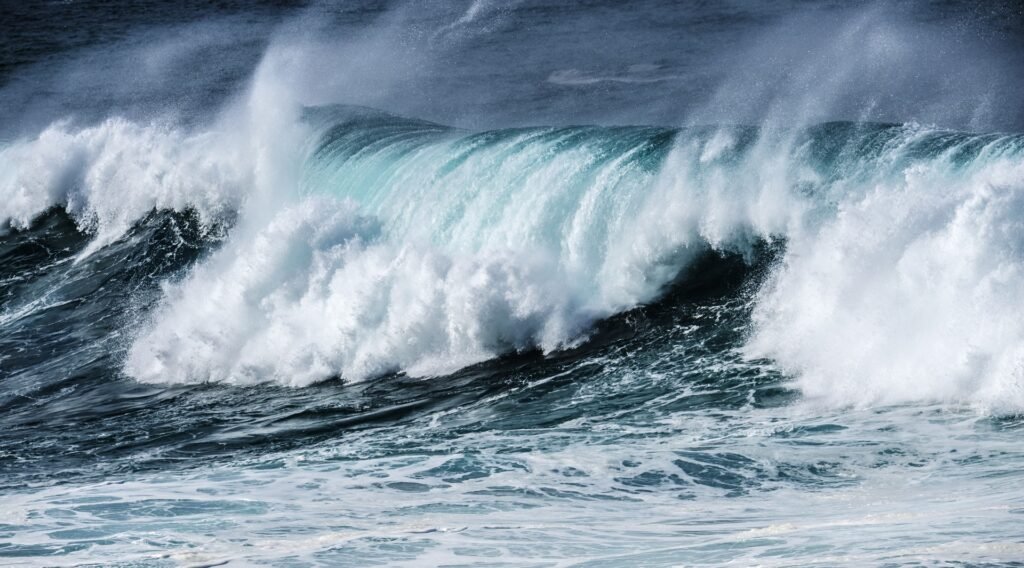 Wave energy research project