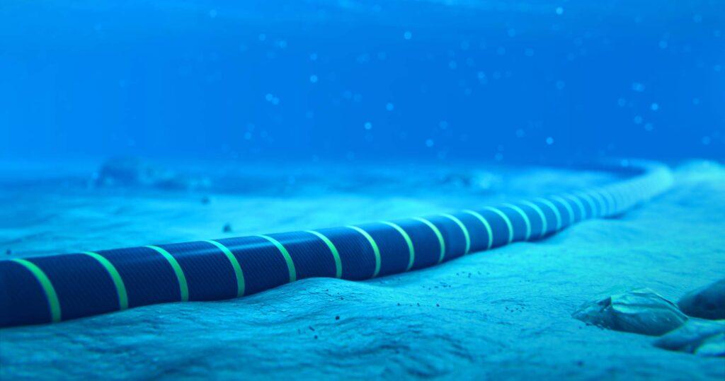 Bilde av sjøkabel