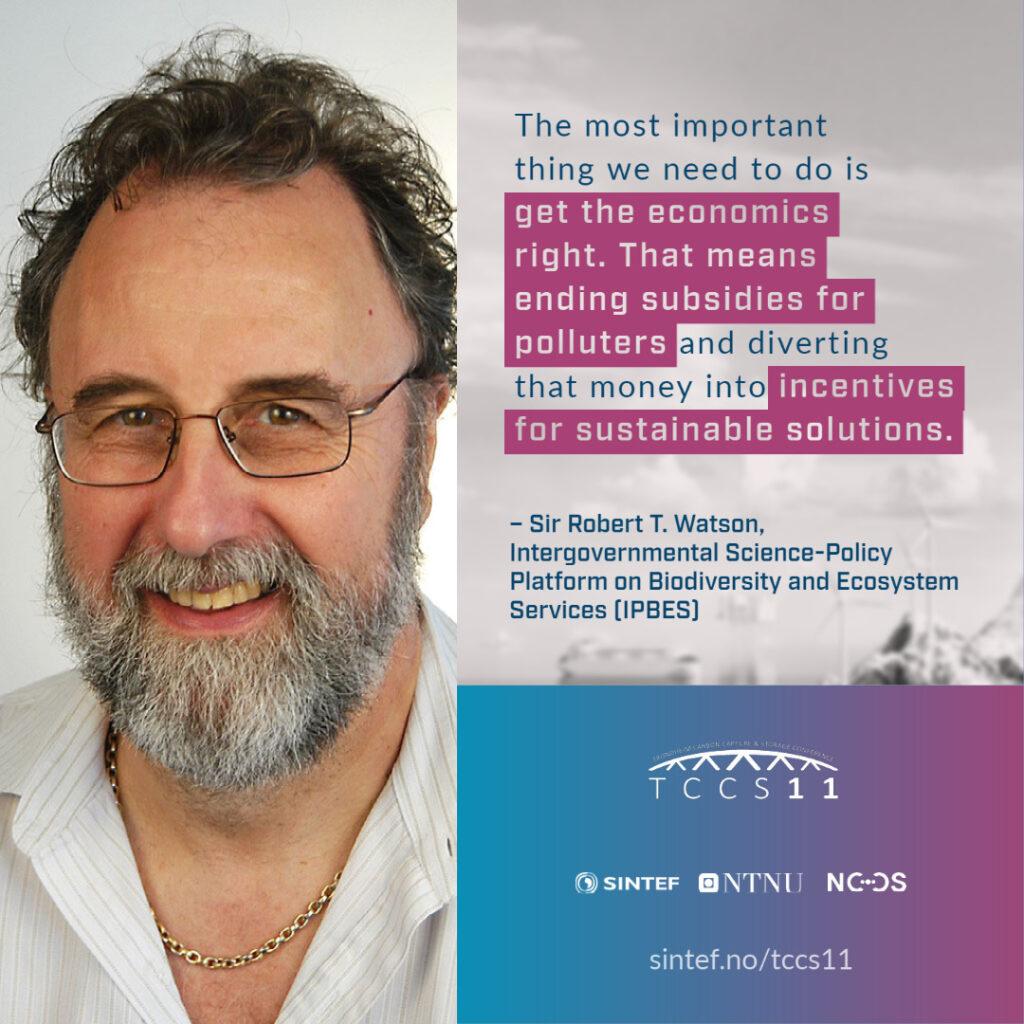 TCCS Sir Robert Watson quote