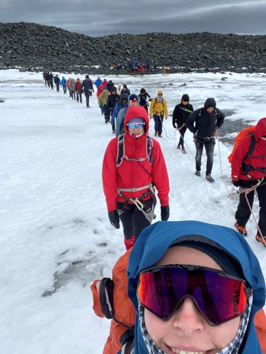 Stemning på isbreen